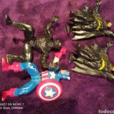 Figuras de Goma y PVC: LOTE DE SUPER HÉROES DC SPIDER-MAN, BATMAN YOLANDA, BULLY. Lote 199779300