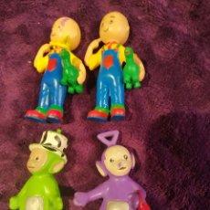 Figuras de Goma y PVC: LOTE PVC CAILLOU TELETOBIS BULLY, COMISIONES, YOLANDA. Lote 199779361