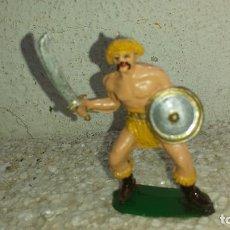Figuras de Goma y PVC: GUERRERO HUNO DE JECSAN. Lote 199851230