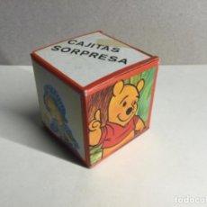 Figuras de Goma y PVC: CAJA SORPRESA AÑOS 70 CON SU CONTENIDO ORIGINAL ( REF.1) . Lote 199912225