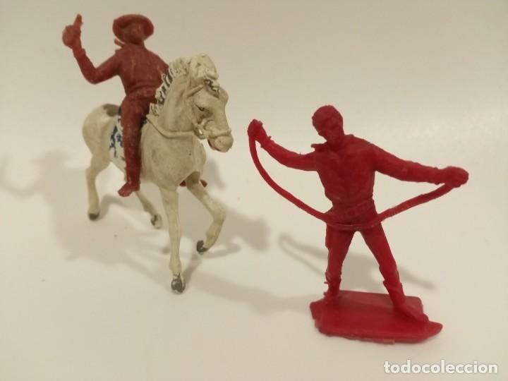 FIGURAS VAQUEROS PECH SERIE GRANDE (Juguetes - Figuras de Goma y Pvc - Pech)