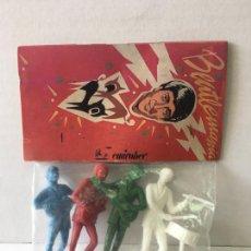 Figuras de Borracha e PVC: MUÑECOS PVC LOS BEATLES AÑOS 80. Lote 200564443