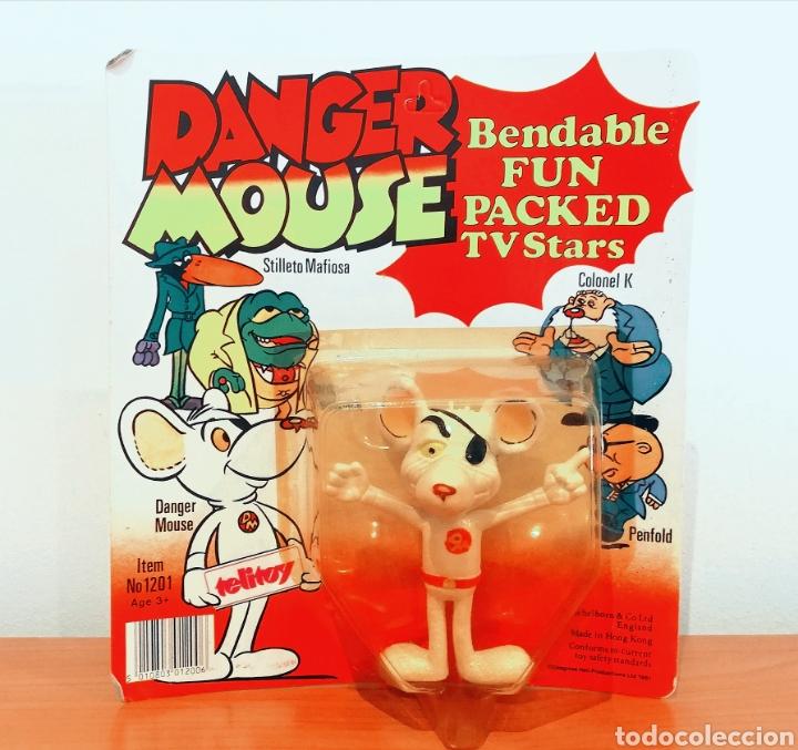 DANGER MOUSE (Juguetes - Figuras de Goma y Pvc - Comics Spain)