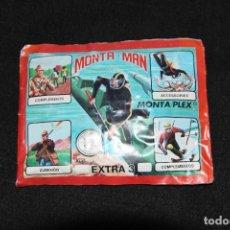 Figuras de Goma y PVC: MONTAMAN. Lote 200660588