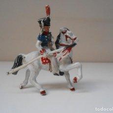 Figuras de Borracha e PVC: LAFREDO FIGURA LANCERO NAPOLEONICO A CABALLO SOLDADO CABALLERIA FIGURE ALFREEDOM FRANCE NAPOLEON. Lote 201144826