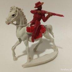 Figuras de Goma y PVC: FIGURA COWBOY PECH SERIE RARA GRANDE. Lote 201164682