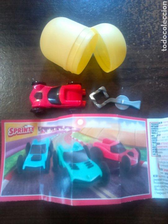 Figuras Kinder: Colección huevo kinder, sprinty dv004 - Foto 2 - 201178821