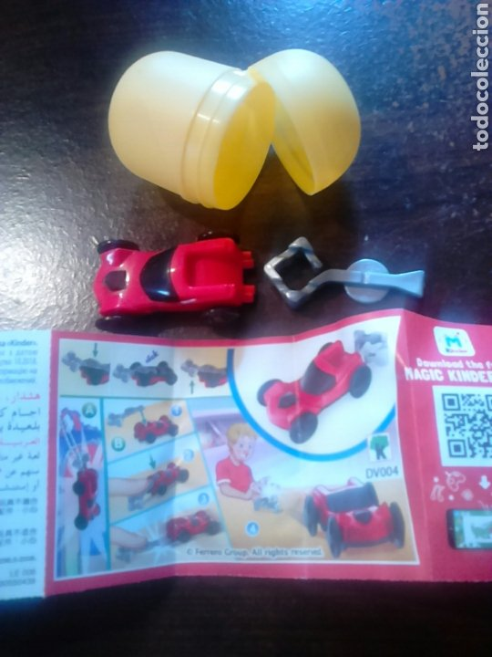 COLECCIÓN HUEVO KINDER, SPRINTY DV004 (Juguetes - Figuras de Gomas y Pvc - Kinder)