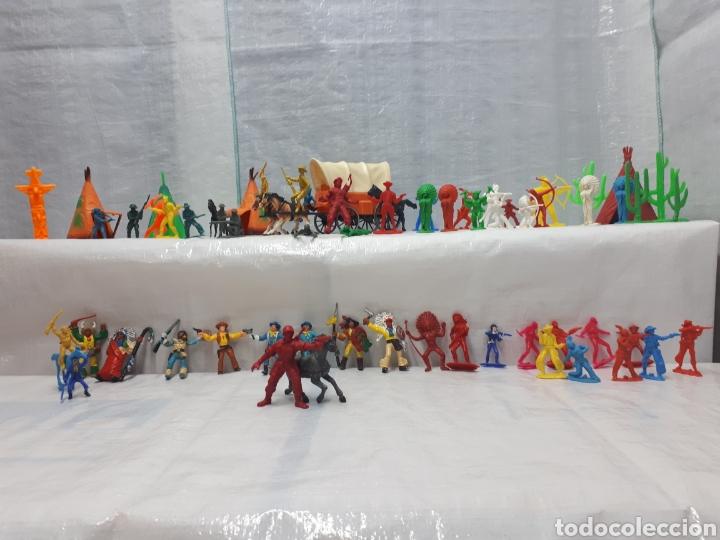 Figuras de Goma y PVC: COMANSI DILIGENCIA TIPY INDIOS FIGURAS Y MÁS!!! - Foto 4 - 201315557