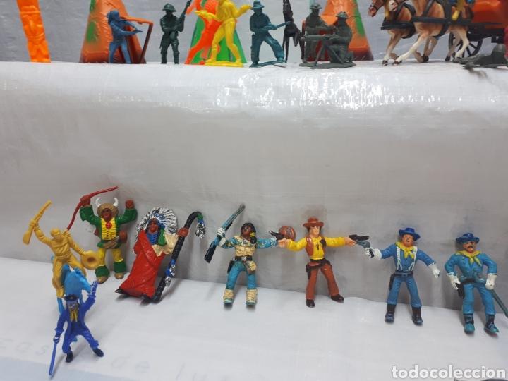 Figuras de Goma y PVC: COMANSI DILIGENCIA TIPY INDIOS FIGURAS Y MÁS!!! - Foto 5 - 201315557