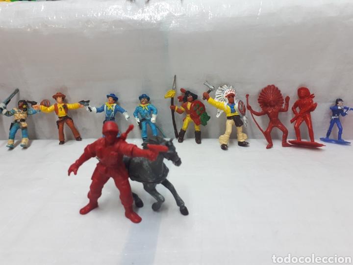 Figuras de Goma y PVC: COMANSI DILIGENCIA TIPY INDIOS FIGURAS Y MÁS!!! - Foto 6 - 201315557
