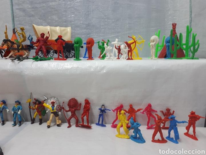 Figuras de Goma y PVC: COMANSI DILIGENCIA TIPY INDIOS FIGURAS Y MÁS!!! - Foto 7 - 201315557