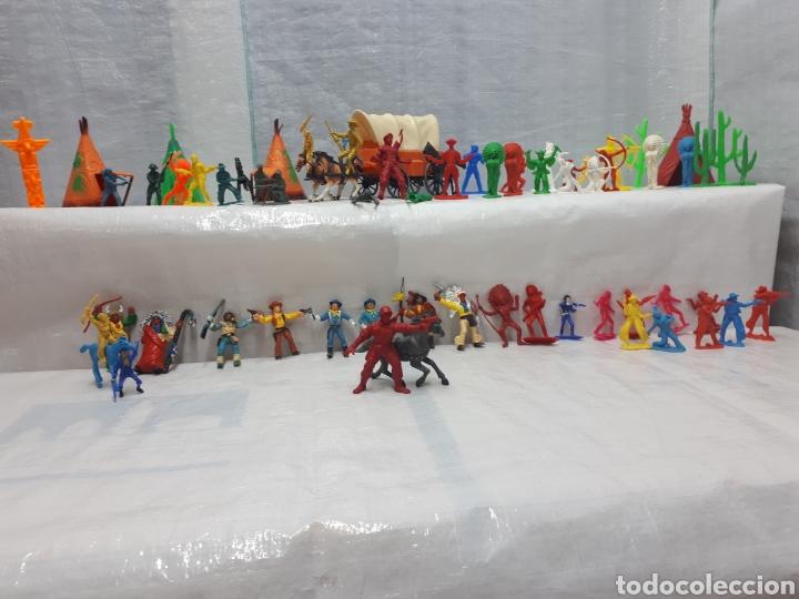 Figuras de Goma y PVC: COMANSI DILIGENCIA TIPY INDIOS FIGURAS Y MÁS!!! - Foto 8 - 201315557