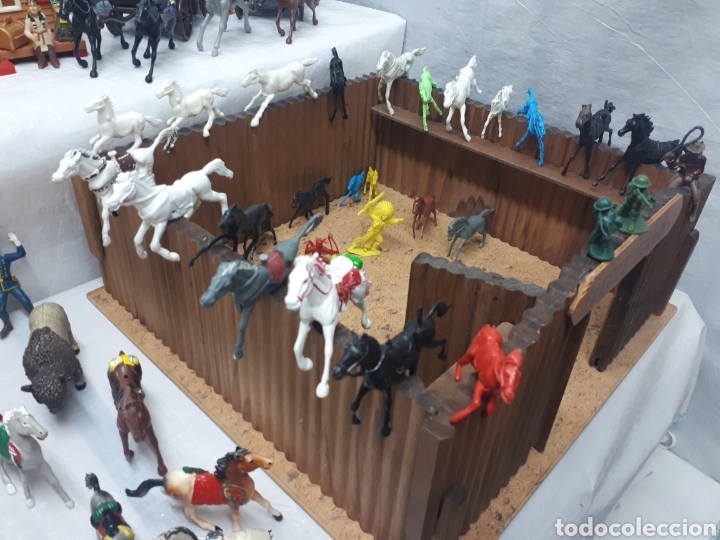 Figuras de Goma y PVC: FUERTE COMANSI DILIGENCIAS TIPYS CABALLOS Y FIGURAS - Foto 10 - 201322386