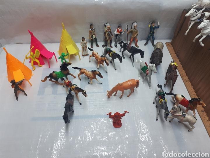 Figuras de Goma y PVC: FUERTE COMANSI DILIGENCIAS TIPYS CABALLOS Y FIGURAS - Foto 11 - 201322386