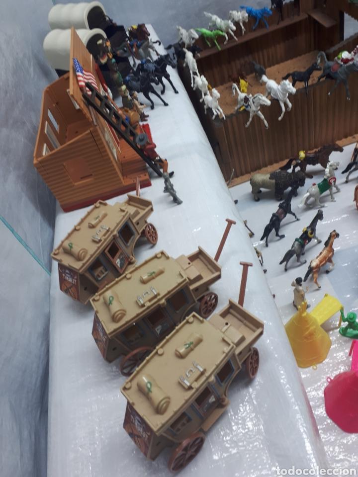 Figuras de Goma y PVC: FUERTE COMANSI DILIGENCIAS TIPYS CABALLOS Y FIGURAS - Foto 13 - 201322386