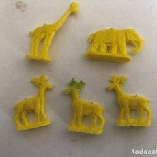 Figuras de Goma y PVC: LOTE DE MINI ANIMALITOS MUY DIFICILES TIPO DUNKIN . Lote 201348236