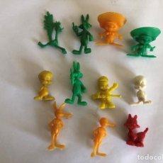Figuras de Goma y PVC: LOTE DE FIGURAS DE DUNKIN DE WALYL DISNEY Y WARNER. . Lote 201350266