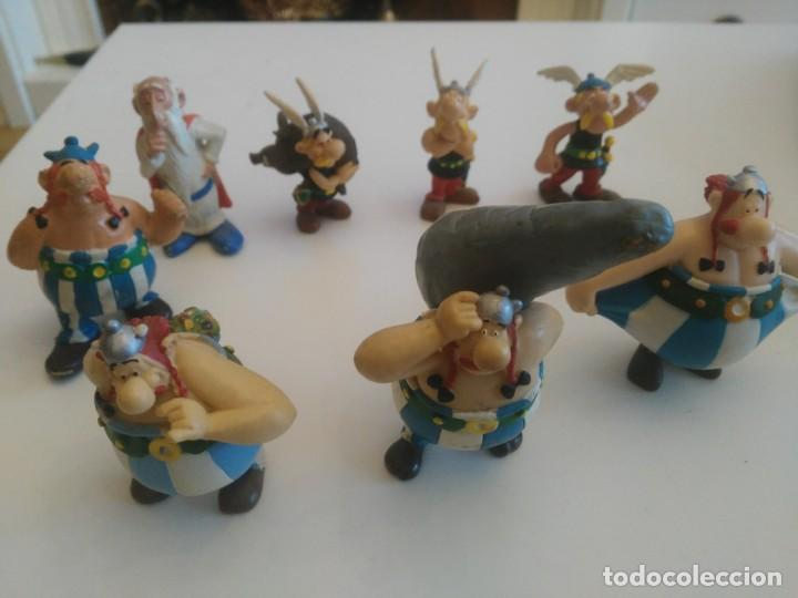 ASTERIX Y OBELIX - LOTE 8 FIGURAS - DE COMICS SPAIN SOLO HAY UNA (Juguetes - Figuras de Goma y Pvc - Comics Spain)