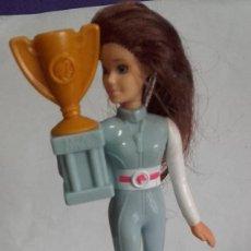 Figuras de Goma y PVC: MUÑECA EN PVC / MCDONALDS 2019 / DE MATTEL. Lote 201504603