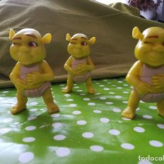 Figuras de Goma y PVC: TRILLIZOS. Lote 201533278