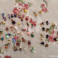Figuras de Goma y PVC: FIGURAS KINDER + PERROS + OTROS. Lote 201765898