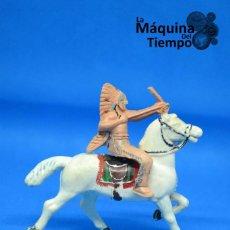 Figuras de Goma y PVC: FIGURA DE INDIO DE REAMSA. AÑOS 50-60. FAR WEST (LEJANO OESTE). SERIE INDIOS Y COWBOYS (VAQUEROS). Lote 201765977