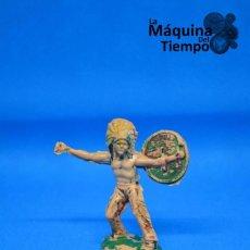 Figuras de Goma y PVC: FIGURA DE INDIO DE REAMSA Nº19. AÑOS 50-60. FAR WEST (LEJANO OESTE). INDIOS Y COWBOYS (VAQUEROS). Lote 201770727