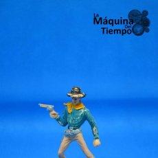 Figuras de Goma y PVC: FIGURA DE COWBOY DE COMANSI 2ª ÉPOCA. AÑOS 70. FAR WEST (OESTE). INDIOS Y COWBOYS (VAQUEROS). Lote 201794178