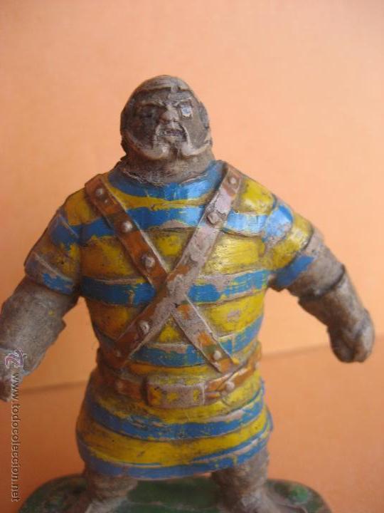 Figuras de Goma y PVC: Goliat. Goma. Estereoplast. Para restaurar - Foto 3 - 201832908