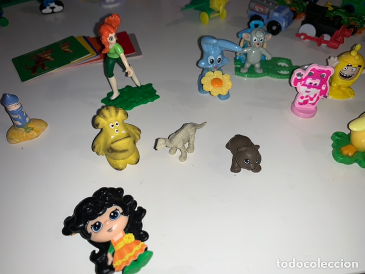 Figuras Kinder: Lote unas 50 figuras kinder, McDonalds, phoskitos, roscon, etc - Foto 5 - 201940658