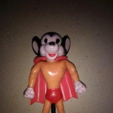Figuras de Goma y PVC: SUPER RATÓN - GOMA ARTICULADA - VICMA - CAPA INCLUIDA - 12 CM ORIGINAL AÑOS 80. Lote 201981147