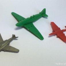 Figuras de Goma y PVC: LOTE 3 AVIONES MONTAPLEX. Lote 202323631