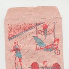 Figuras de Goma y PVC: LOTE B -SOBRE VACIO TIPO MONTAPLEX OLIMPICO DEPORTES 1973. Lote 218211081