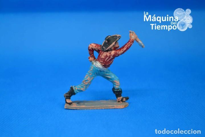 Figuras de Goma y PVC: Figura de cowboy de PECH HERMANOS. NºC/18. Años 50-60. Far West (Oeste). Indios y Cowboys (vaqueros) - Foto 4 - 202479102