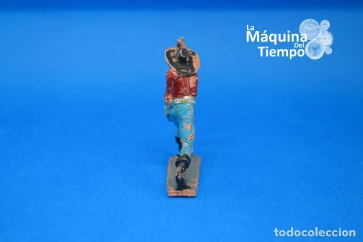 Figuras de Goma y PVC: Figura de cowboy de PECH HERMANOS. NºC/18. Años 50-60. Far West (Oeste). Indios y Cowboys (vaqueros) - Foto 5 - 202479102