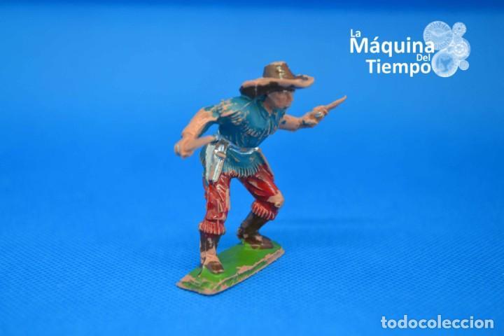 Figuras de Goma y PVC: Figura de cowboy de PECH HERMANOS. NºC/20. Años 50-60. Far West (Oeste). Indios y Cowboys (vaqueros) - Foto 2 - 202480433