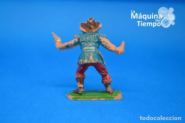 Figuras de Goma y PVC: Figura de cowboy de PECH HERMANOS. NºC/20. Años 50-60. Far West (Oeste). Indios y Cowboys (vaqueros) - Foto 3 - 202480433
