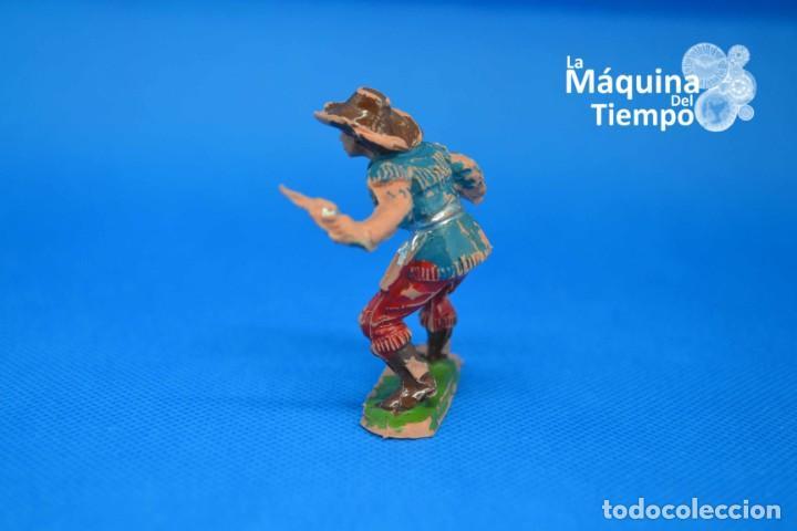 Figuras de Goma y PVC: Figura de cowboy de PECH HERMANOS. NºC/20. Años 50-60. Far West (Oeste). Indios y Cowboys (vaqueros) - Foto 4 - 202480433