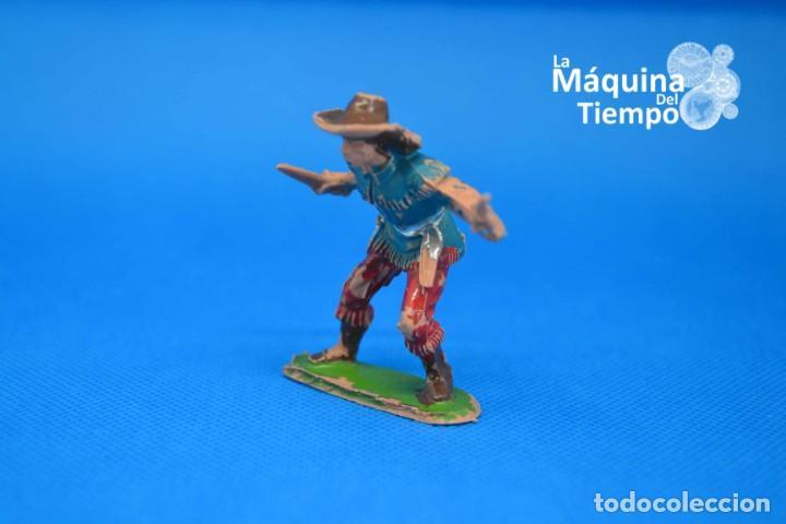 Figuras de Goma y PVC: Figura de cowboy de PECH HERMANOS. NºC/20. Años 50-60. Far West (Oeste). Indios y Cowboys (vaqueros) - Foto 5 - 202480433