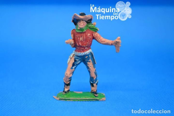 FIGURA DE COWBOY DE PECH HERMANOS. NºC/21. AÑOS 50-60. FAR WEST (OESTE). INDIOS Y COWBOYS (VAQUEROS) (Juguetes - Figuras de Goma y Pvc - Pech)