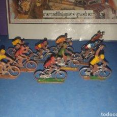 Figuras de Goma y PVC: GRAN LOTE DE CICLISTAS SOTORRES. Lote 279472933