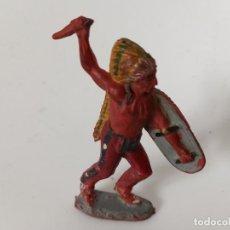 Figuras de Goma y PVC: FIGURA INDIO PECH HNOS. Lote 202688915