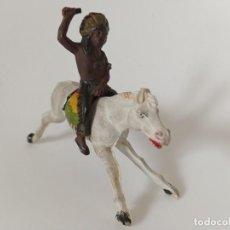 Figuras de Goma y PVC: FIGURA INDIO REAMSA GOMA. Lote 202689753