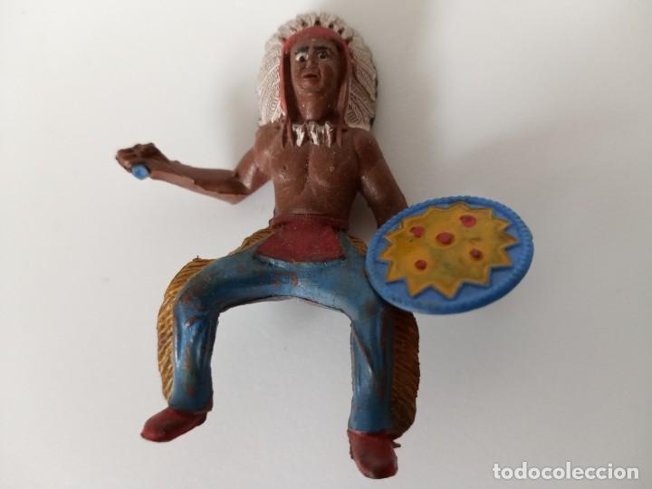FIGURA INDIO GOMA SOTORRES (Juguetes - Figuras de Goma y Pvc - Sotorres)