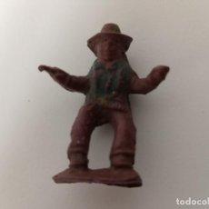 Figuras de Goma y PVC: RARA FIGURA VAQUERO CAPELL GOMA. Lote 202779758