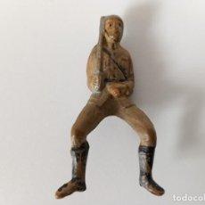 Figuras de Goma y PVC: FIGURA SOLDADO GOMA TEIXIDO. Lote 202780017
