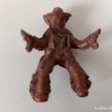 Figuras de Goma y PVC: FIGURA VAQUERO GOMA CAPELL. Lote 202780091