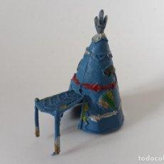Figuras de Goma y PVC: TIENDA TIPI INDIO MINI COMANSI. Lote 202780525