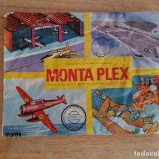 Figuras de Goma y PVC: MONTAPLEX SOBRE VACIO. Lote 202807803